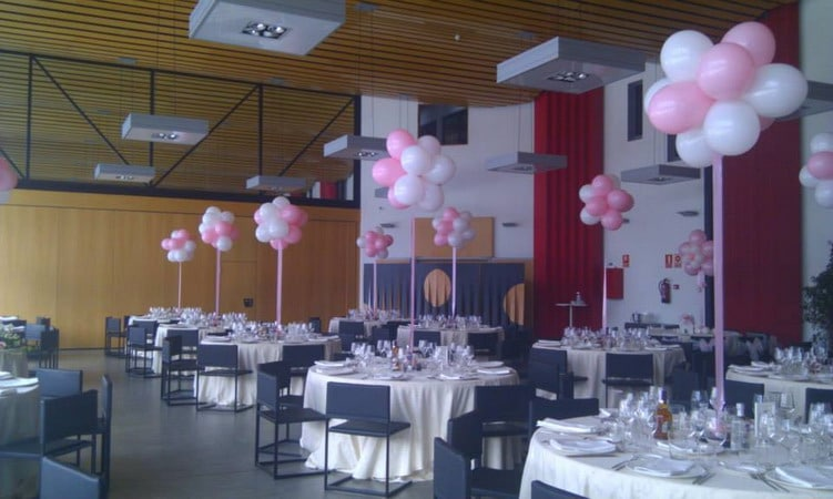 Wow decoracion con globos en salones y jardines for Decoracion salon infantil