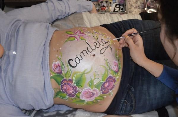 Body Paint Barrigas Embarazadas