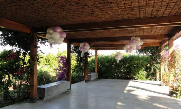 Wow! decoracion con globos en salones y jardines