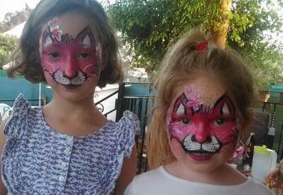 maquillaje fantasia niñas