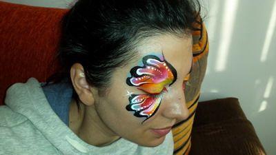 maquillaje de fantasia daniela ropotan