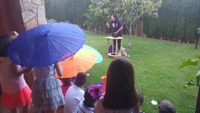 evento infantil con magos a domicilio