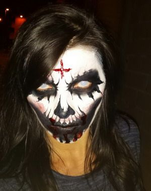 maquillaje para halloween bruja