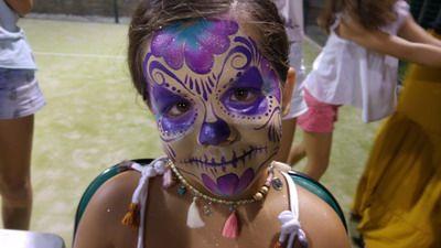 maquillaje de carnaval calavera mejicana original