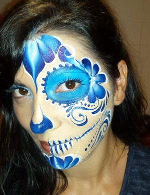 maquillaje para halloween mujer guapa