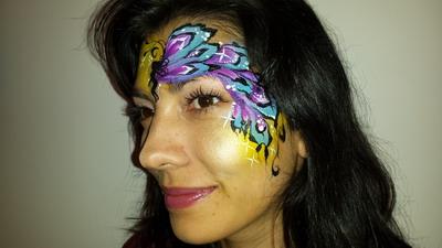 maquillaje de carnaval hada madrina