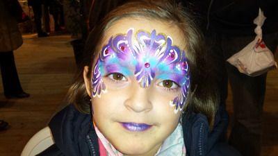 maquillaje de carnaval niña princesa