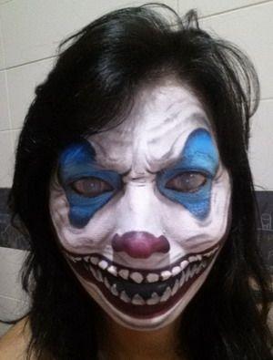 maquillaje halloween horrible fantasmagórico