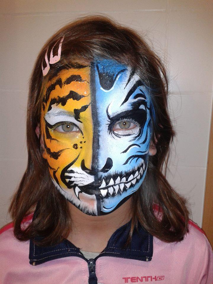 Wow taller de pinta caras infantil con super animaciones - Pinturas de cara para ninos ...