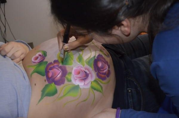 Wow Barriga De Embarazadas Pintadas Dibujos Ideas