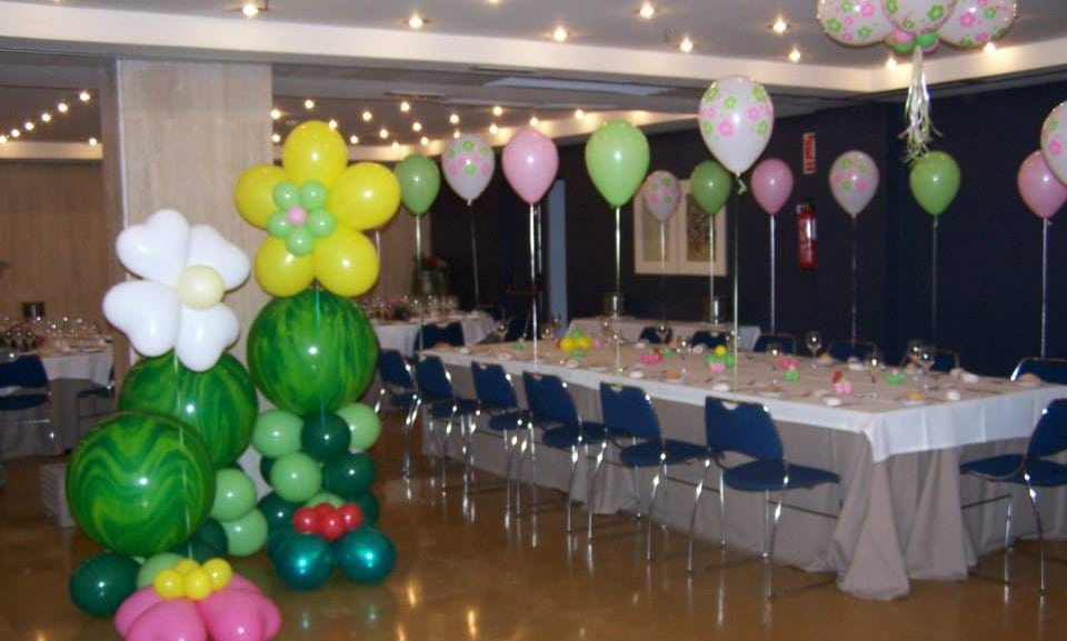 Wow decoracion con globos en salones y jardines Decoracion de salon