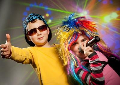 Fiesta disco party dance con karaoke