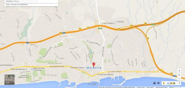 plano de Marbella