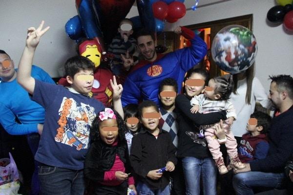 animaciones de fiestas cumpleaños en casa de los niños