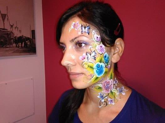 maquillaje para fiestas infantiles