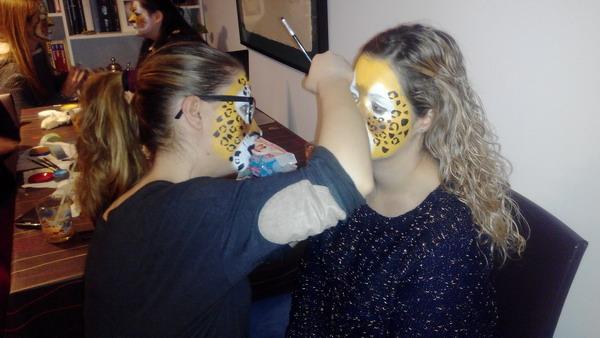 maquilladores de fiestas con niños