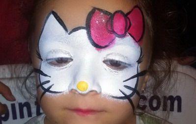 maquillaje fantasia niña gatita