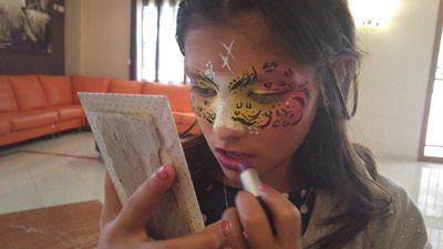 maquillaje fantasia niña