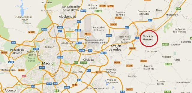 cerca blanco orgía cerca de Alcalá de Henares