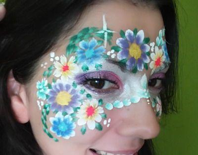 animación para niños con maquillaje de fantasía premium de superanimaciones