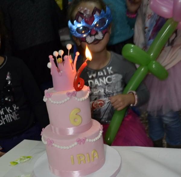 fiesta infantil en madrid para una niña
