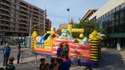 alquiler de castillos hinchables en Madrid