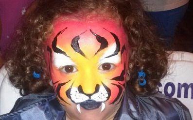 maquillaje para halloween niña