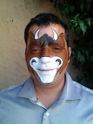 maquillaje de carnaval hombre