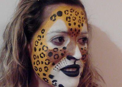 maquillaje de carnaval mujer