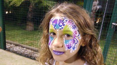 maquillaje de carnaval niña