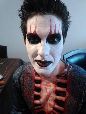 maquillaje para halloween vampiro