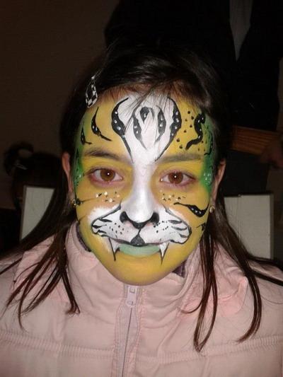 maquillaje de león fantastico