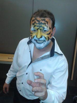 maquillaje para carnaval tigre