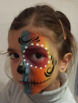 maquillaje hallowenn niños