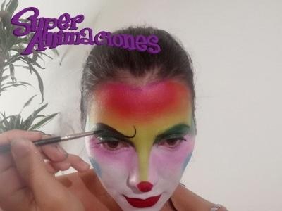 El Mejor Maquillaje Payaso Espectacular