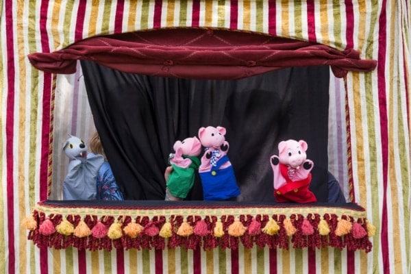 marionetas de hilos para niños
