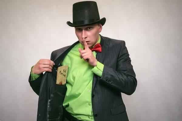 trucos de magia con baraja española
